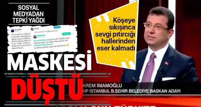 CHP'nin adayı Ekrem İmamoğlu'nun Tevfik Göksu ile ilgili hakaretlerine vatandaşlardan sert tepki .