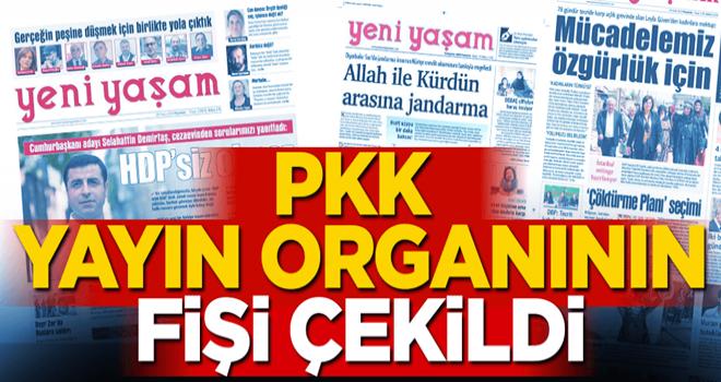 HDP'nin yayın organı Yeni Yaşam Gazetesi'ne erişim engeli