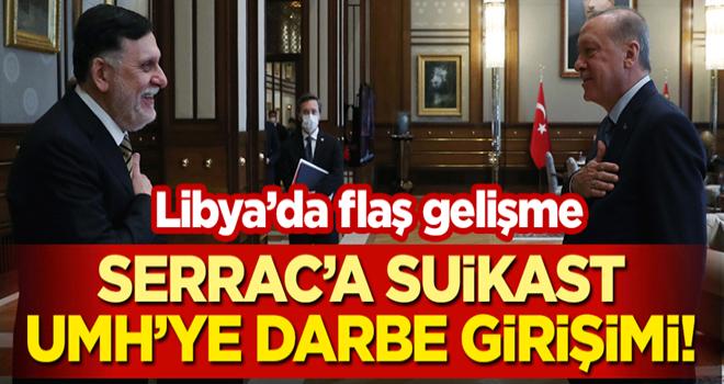 Libya'da flaş gelişme: Türkiye destekli Serrac'a suikast, UMH'ye darbe girişimi!