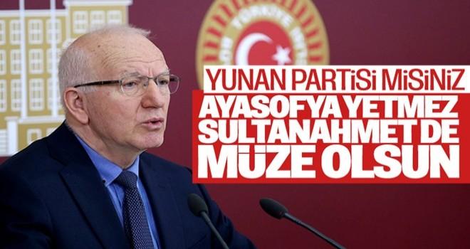CHP'li Kaboğlu: Sultanahmet de müze olsun