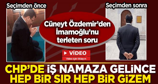 Cüneyt Özdemir'den ekrem'i terleten 'namaz' sorusu