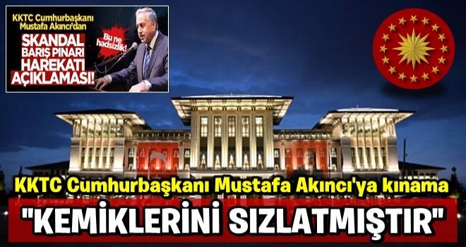Fuat Oktay'dan KKTC Cumhurbaşkanı Mustafa Akıncı'ya kınama: Kemiklerini sızlattı