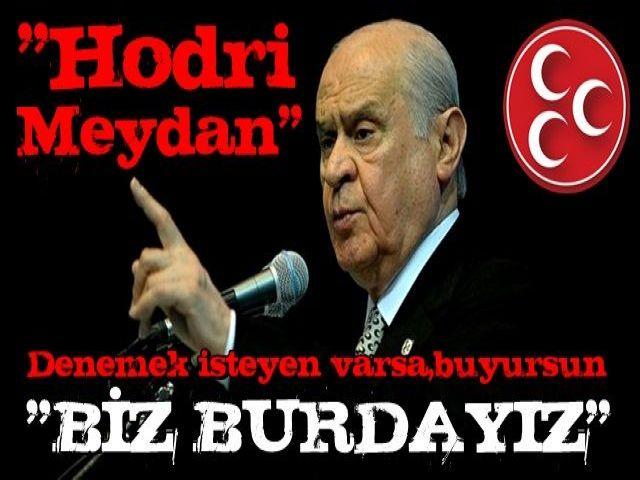 """Bahçeli meydan okudu! """"Türkiye sokak serserilerine teslim edilmeyecek"""""""