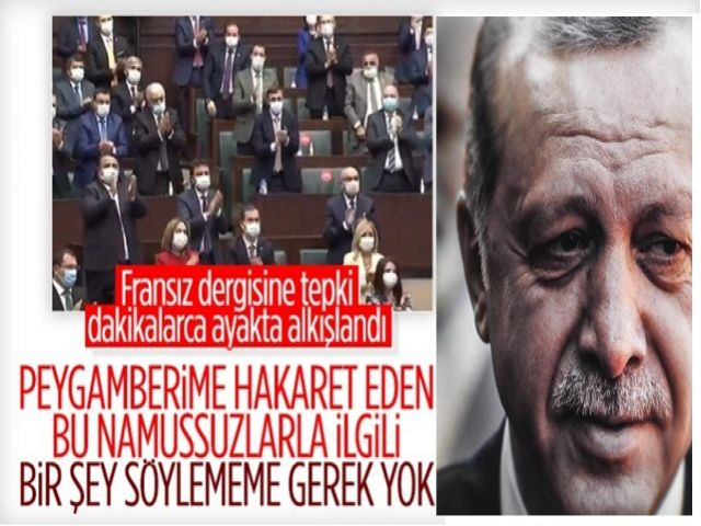 Cumhurbaşkanı Erdoğan'dan Charlie Hebdo'ya tarihe geçecek cevap