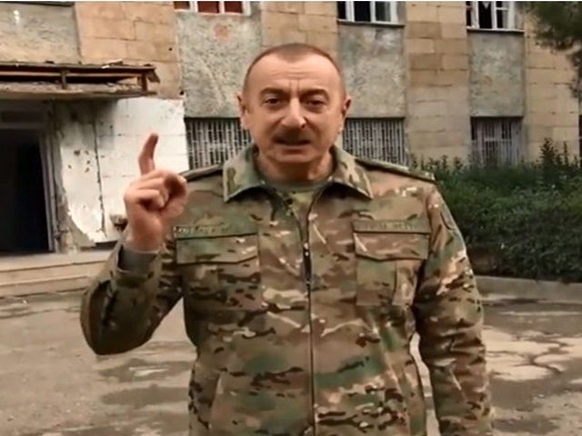 Aliyev ; ''KARABAĞ AZERBAYCANDIR''