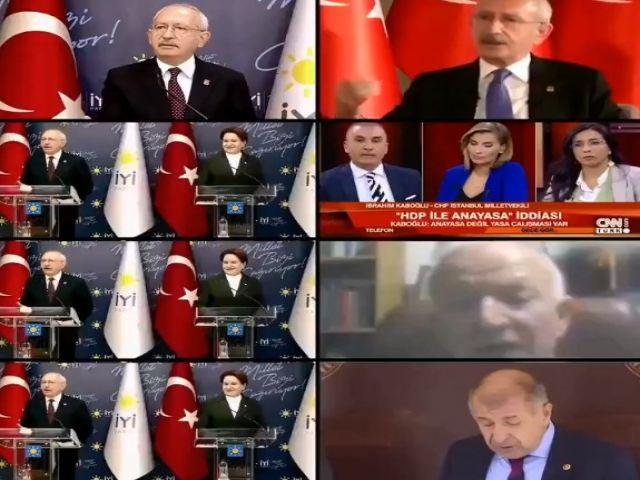 CHP, Saadet Partisi, İyi Parti ve HDP arasında ANAYASA ÇALIŞMALARI