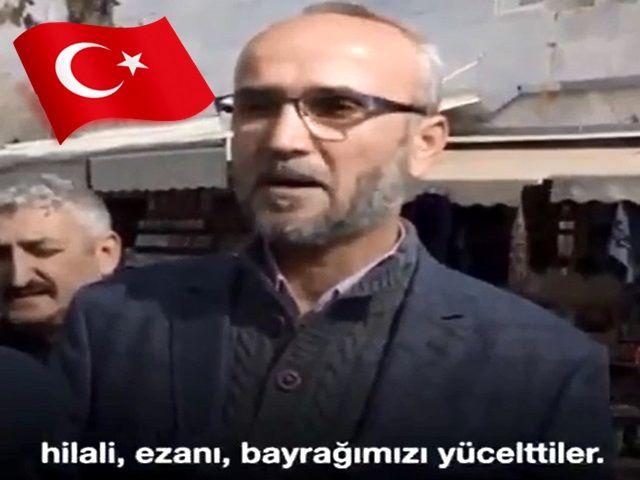 Şehit Ahmet Taşdemir'in müşerref babasını dinleyelim...